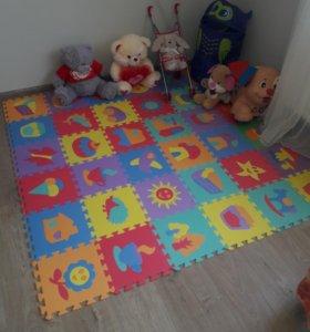 Новый коврик пазл