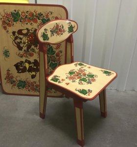 Набор стол и стул детские