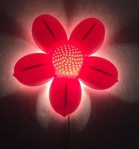 """Ночник """"цветочек"""" из ikea"""