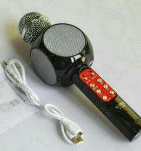 3 в1 - аудиоплеер - колонка - микрофон