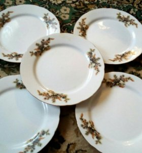 Антикварные тарелки коллекционные