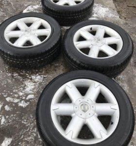 Оригинальные колёса на Ниссан Мурано лето r18