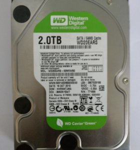 Western Digital Green 2 Tb