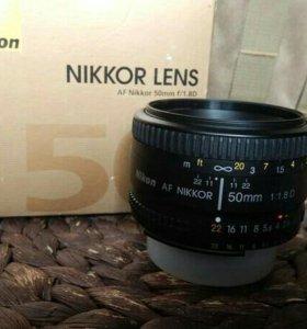 Обьектив Nikon 50mm 1.8D