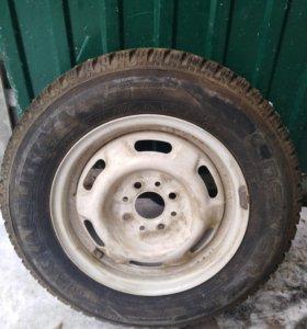 Зимняя шина, б/у в отличном состоянии