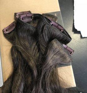 Волосы на заколках HairShop