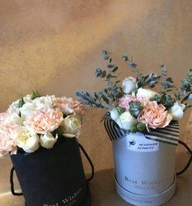 Букеты на заказ из живых цветов