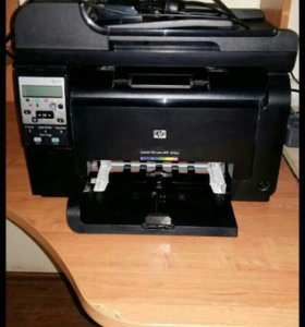 Мфу HP Laserjet 100 color mfp m175nw