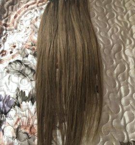 Волосы для наращивания 55см , 115шт