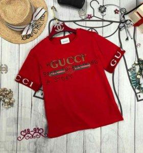 Gucci футболка три цвета