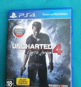 Uncharted 4: Путь вора. PS4