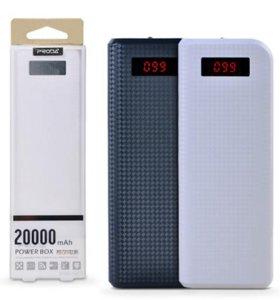Портативный аккумулятор Powerbank PRODA 20000 мАч