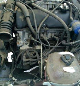 двигатель и кпп5 авто по запчасям ваз21074 2012год