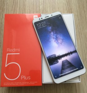Xiaomi Redmi 5 plus Global 3/32gb Новые
