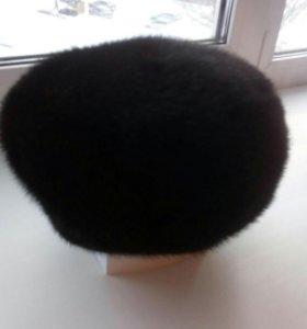 Женскачя норковая шапка новая