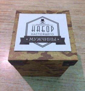 Мужской набор MAN-BOX, подарок на 23 февраля