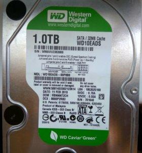 жесткий диск 1 терабайт WD-WMAVU2383906