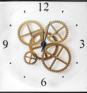 Настенные часы больших размеров