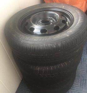 Летние колёса r15