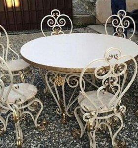 кованые изделия(лавочки,стулья,столы,вешалки и т.д