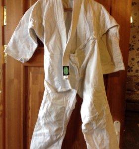 Детское кимоно с поясом 42-44.