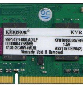 Kingston [KVR16LS11/4] 4 ГБ SO-DIMM