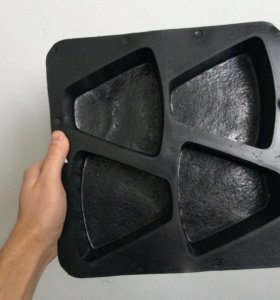Форма для изготовления брусчатки новая