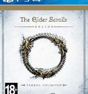 Ps4 The Elder scrolls online (новый)