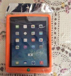 Чехол оранжевый на IPAD 4