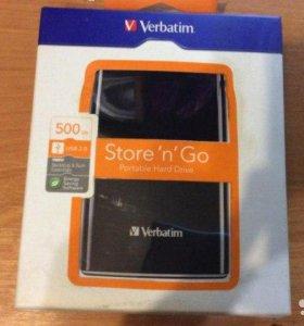 Внешний жесткий диск на 500 gb