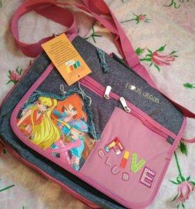 Школьная детская сумка