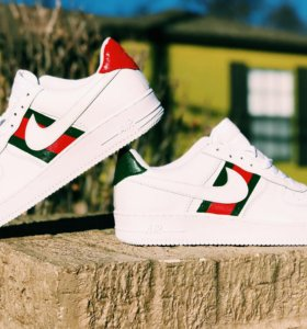 Gucci кроссовки Nike Air Force