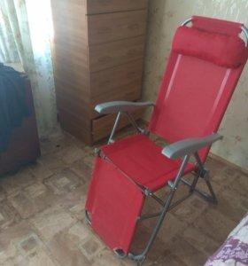 Жезлонг кресло