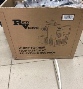 Сварочный инвертор RD-evomig 200Prof НОВЫЙ