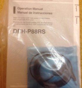Инструкция и микрофон от DEH-P88RS