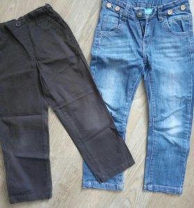 Джинсы+брюки р. 110
