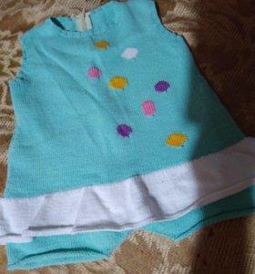 Платье шорты под памперс до1г