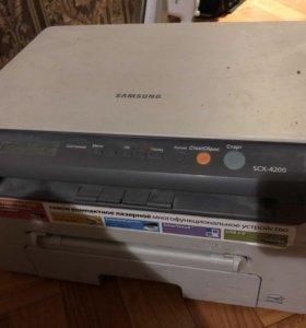 Принтер лазерный самсунг