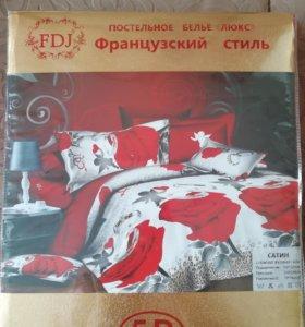 Продам постельное белье Французский стиль 1.5 5D