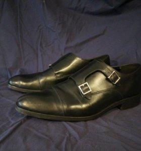 Мужские туфли монки zara