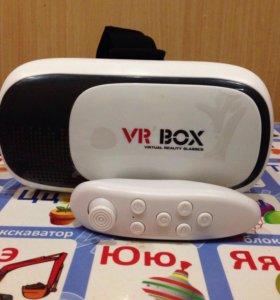 Виртуальные очки VR BOX с пультом.