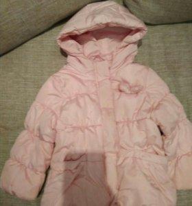 Куртка Zara 92р маломерит