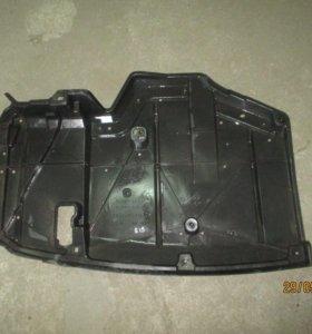 Защита днища кузова задняя Toyota Corolla E15