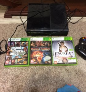 Xbox360 + игры