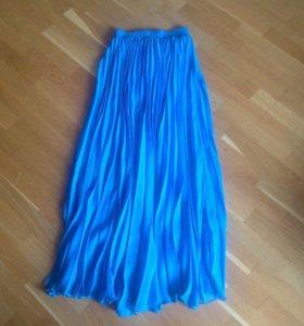 Плиссированная юбка Yves Saint Laurent, новая!!!