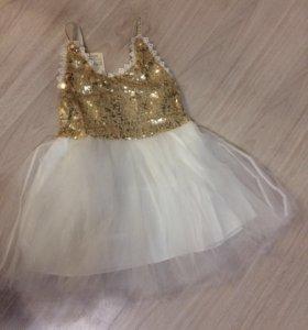 Платье новое на 3-4года