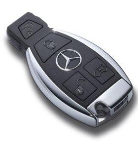 Прошивка ключей на mercedes