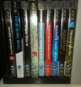 Диски для PlayStation 3. 23 шт.