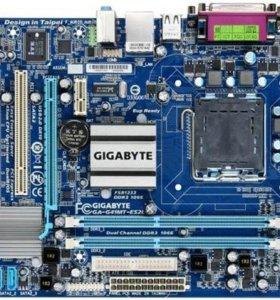 Связка 4 ядра LGA 775 на gigabyte DDR 3 и xeon