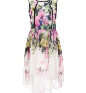 Эффектное летнее платье 44-46